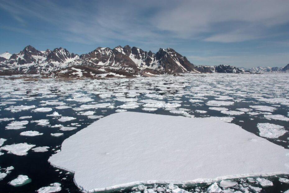 Grönland'da bir günde rekor miktarda buz eridi