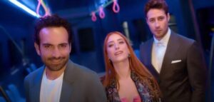 Hazal Kaya ve Buğra Gülsoy yeni dizisi İmkansız için ilk kez bir araya geldi!