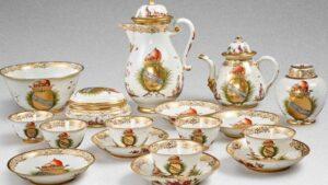 Hitler döneminde çalışan Meissen porselenleri rekor fiyata satıldı