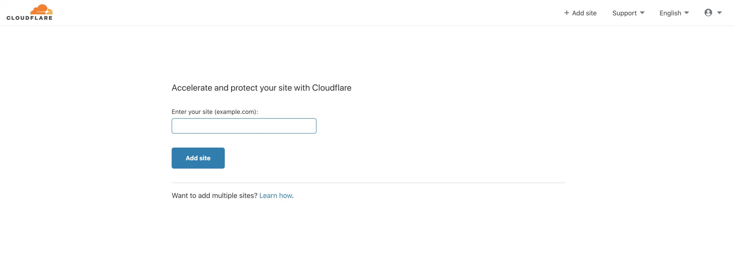 Cloudflare'e Web Sitesi Tanımlama